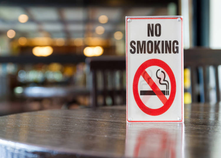 5. Are there non-smoking restaurants in Tokyo?