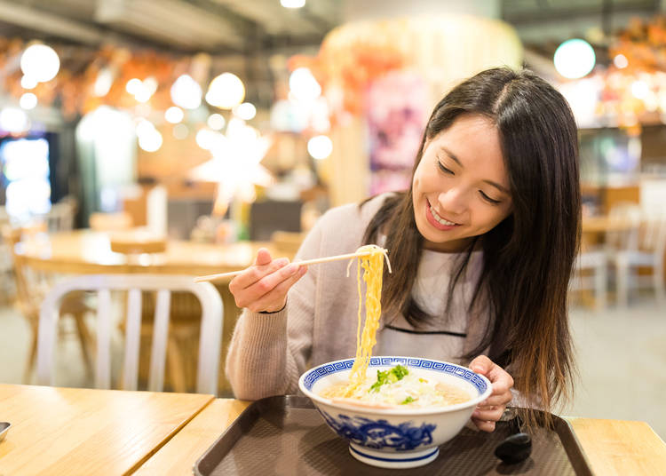 15. Do Japanese people really slurp noodles?