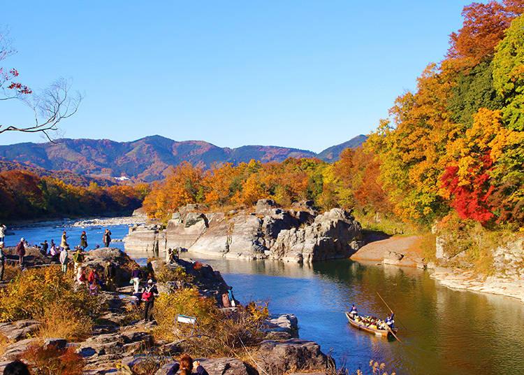 素敵な紅葉写真攻略法①:水面の映り込みを利用して、写真をより鮮やかに!