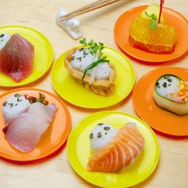 【東京必買】可愛到要把你吃掉!在家也能自己做「超熊貓」迴轉壽司!