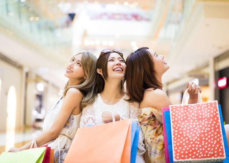 不會日文也能大買一波!日本旅遊好用日語-百貨公司常見詞彙&實用會話
