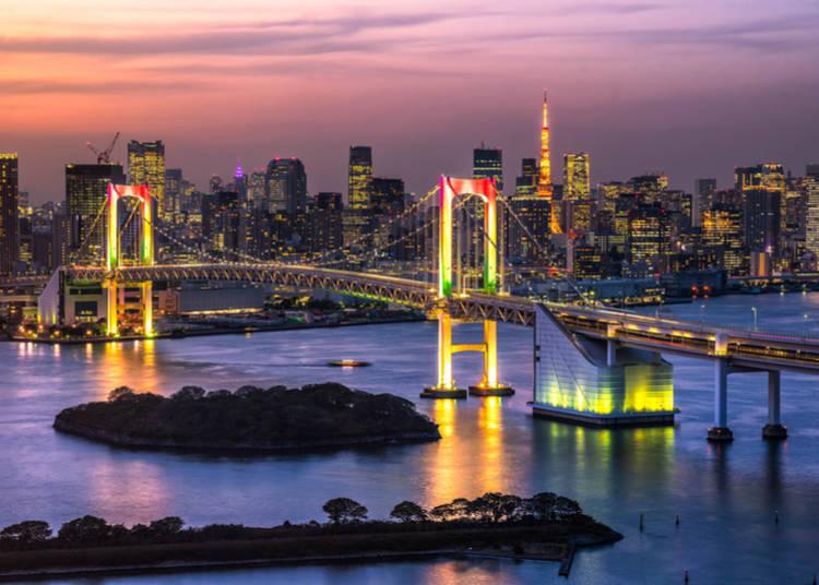 一個人的東京旅,可以從白天精采到夜晚!