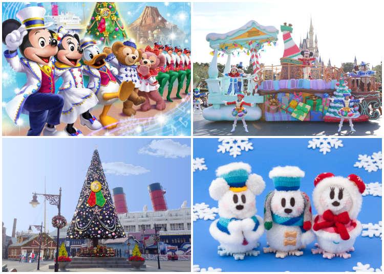 【最新】絢彩聖誕喜來臨!和東京迪士尼共度2018歡樂浪漫聖誕節吧