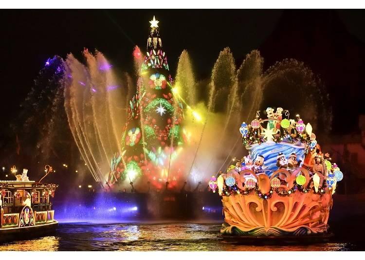 ◆東京迪士尼海洋「絢彩聖誕」◆