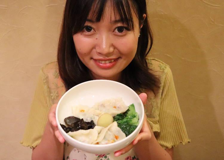 ■100円ショップ調達材料で作った本格水餃子が完成!そのお味は!?