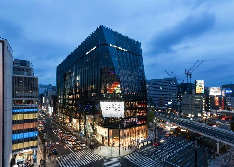Lotte Duty-Free Tokyo Ginza Store: the Largest Duty-Free Shop in Tokyo, Spanning Two Floors!