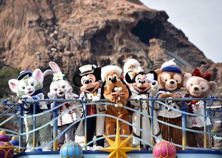 東京迪士尼度假區的「迪士尼聖誕節」活動在2018年浪漫登場!
