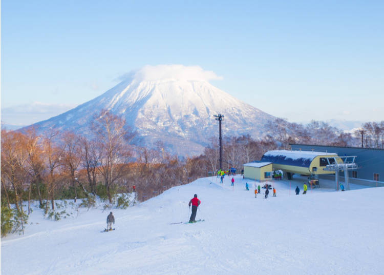 1. Japan has incredible powder and a large number of resorts