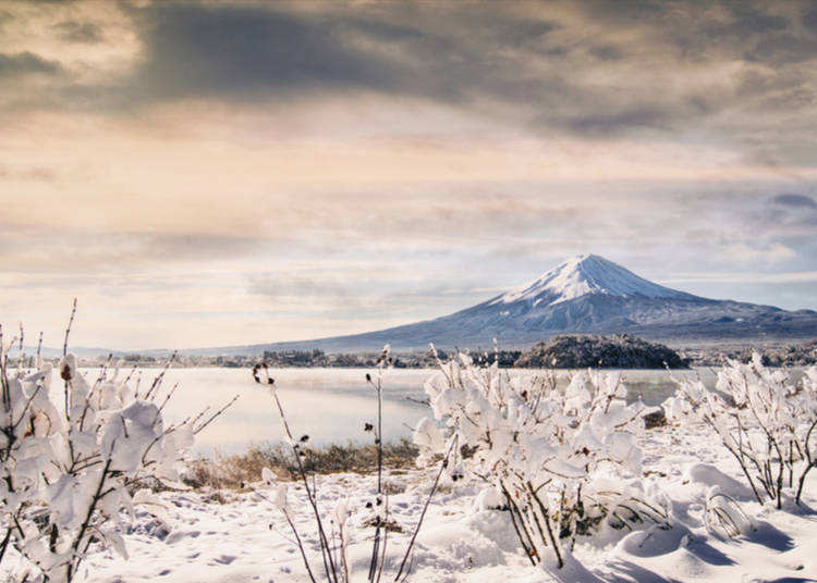 2. Mt. Fuji – the Iconic Snow Covered Mountain of Japan