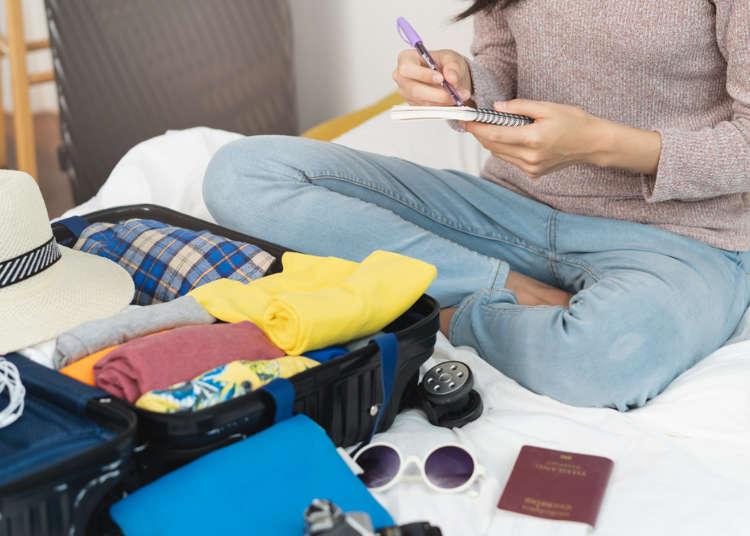 準備行李就看這篇!各國人海外旅行時的「必備物品清單」大公開!