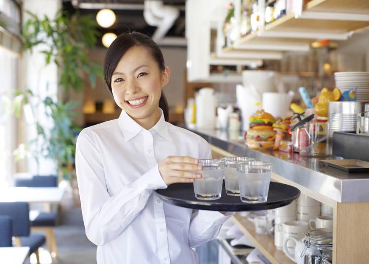 日本はショップスタッフのプロ意識が高い!