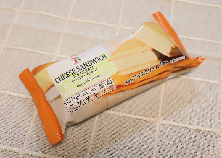 3. Seven Premium Cheesecake Sandwich