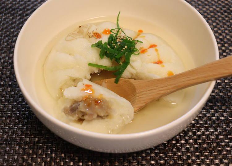 ■レシピ②:スープ肉まん