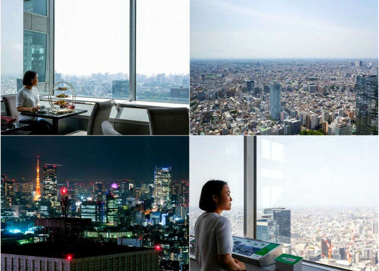 Tokyo's #1 Free Observation Deck: 360° Panoramic Views From These Downtown Skyscrapers!