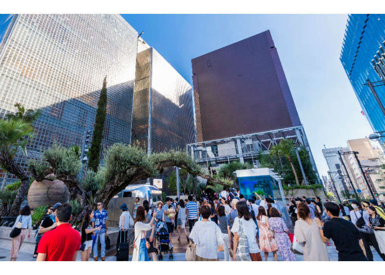 Ginza Sony Park: Experiencing Tokyo's Newest Park on the Site of the Former Sony Building