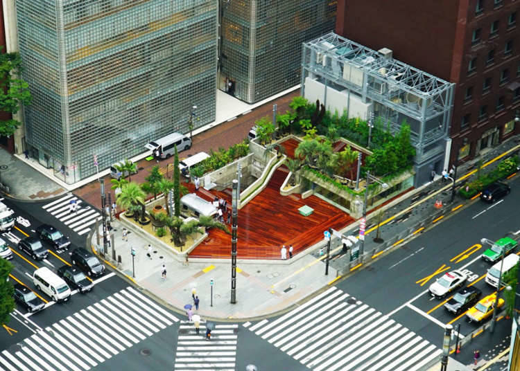 A New Landmark: Ginza Sony Park - Open Until 2020