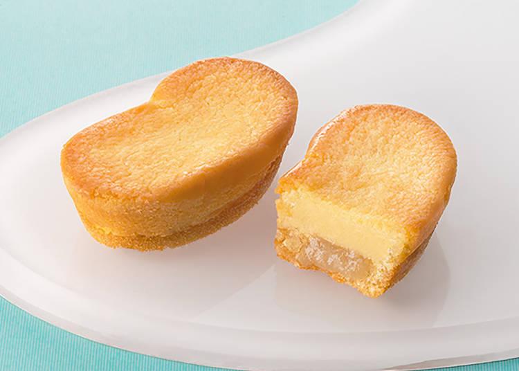 【第二名】東京香蕉起司蛋糕(東京ばな奈チーズケーキ)8入 含稅1080日圓