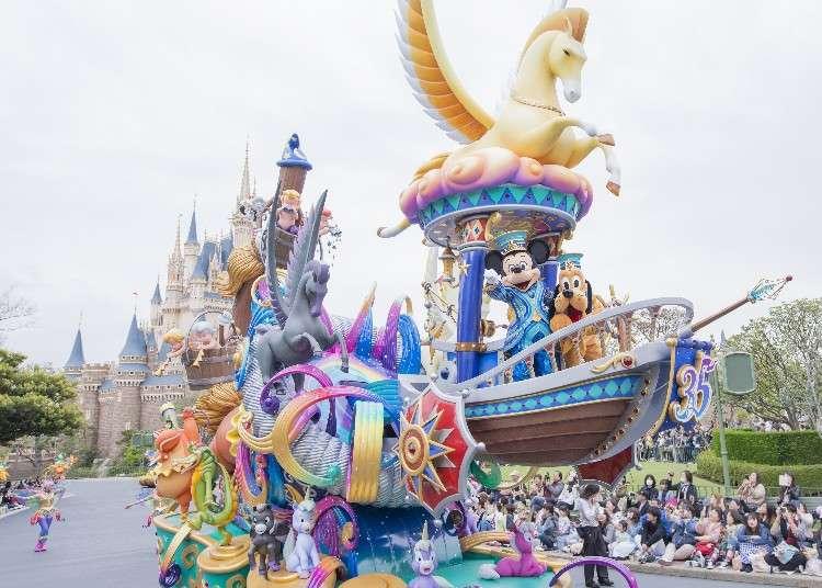 東京迪士尼度假區35週年慶「Happiest Celebration!」喜迎終章~1至3月活動總整理