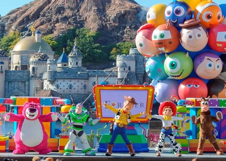 ◆東京迪士尼海洋◆ ■皮克斯遊戲時間 【娛樂表演】