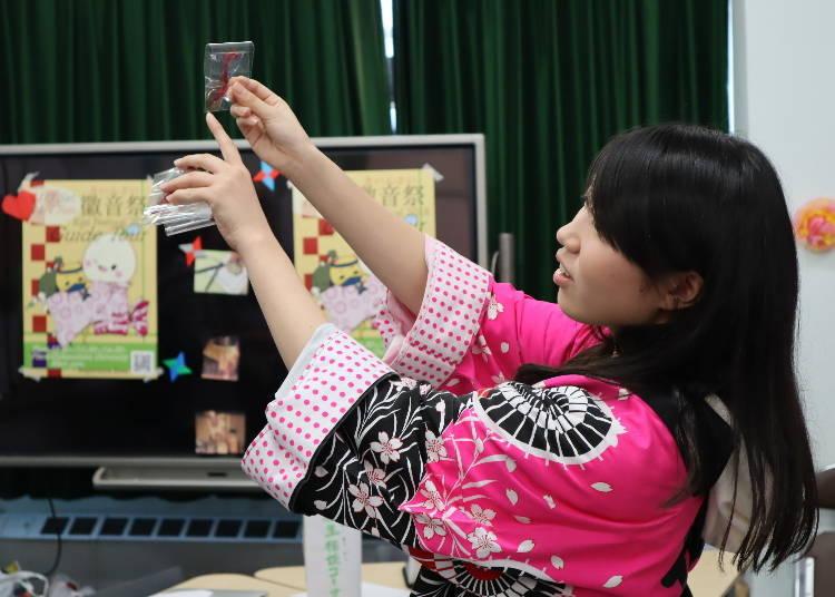 마지막까지 일본 문화가 깃들어 있는 선물로 흐뭇!