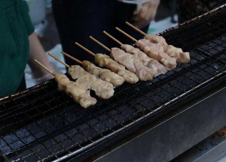 일본 이자카야의 단골 메뉴 '야키토리' 맛보기