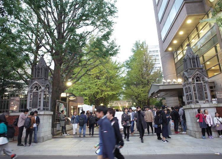 가을 연례행사 '가쿠엔사이', 대학교이기에 더 활기 넘치고 이벤트도 재미있다!