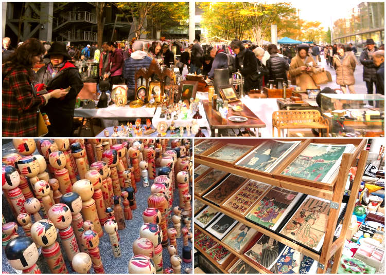 11 Fantastic Flea Markets In Tokyo Where And When To Find The