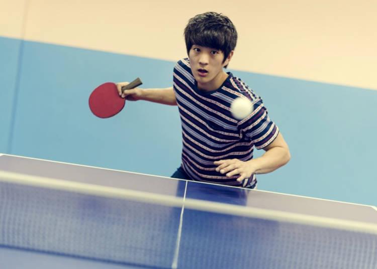Table Tennis in Japan 2019