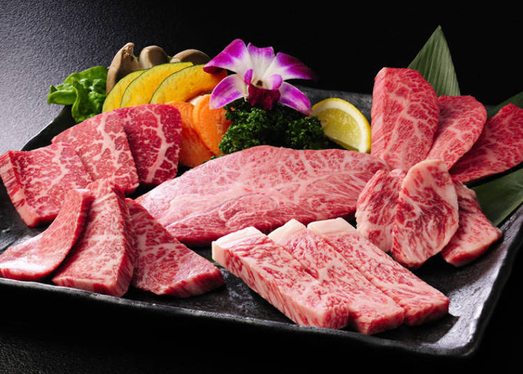 "The highest grade of all-natural Yamagata beef, down to the bone! ""Gyubei Souan"""