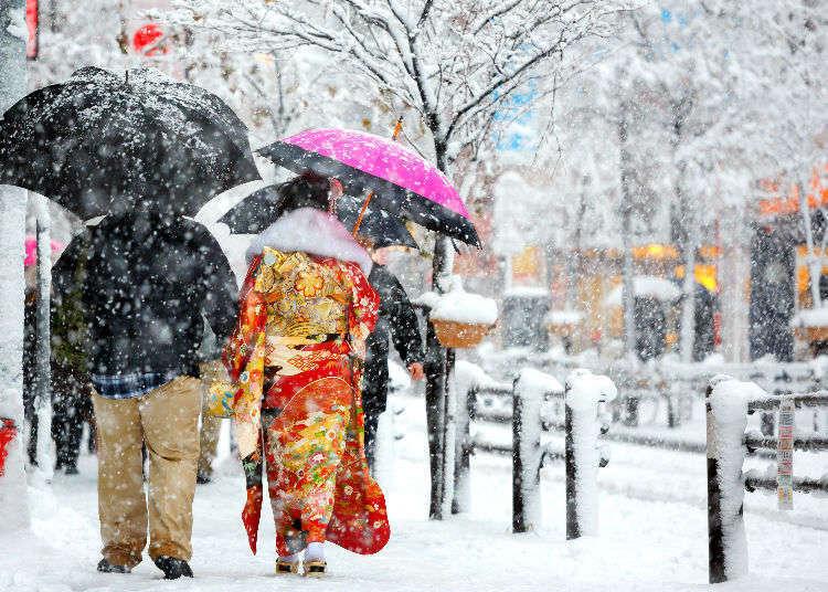 日本旅遊遇大雪好興奮!但是需要注意些什麼?照著這樣做準沒錯!