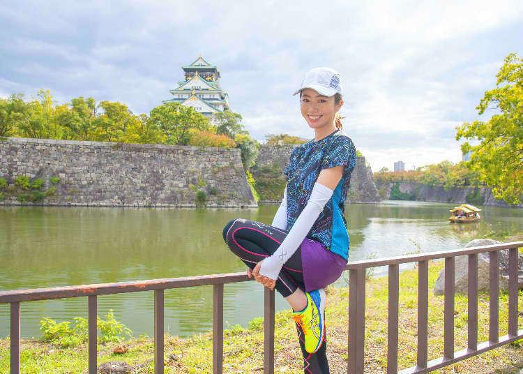 一邊跑步一邊享受日本美景 Made in Japan的高機能運動服讓你的腳步更輕盈