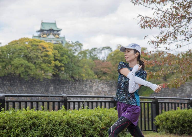 Osaka Castle's ABCD Courses Offer Beauty in Every Season