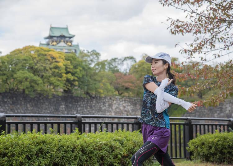 ABCDのコースが選べる、四季折々に美しい大阪城