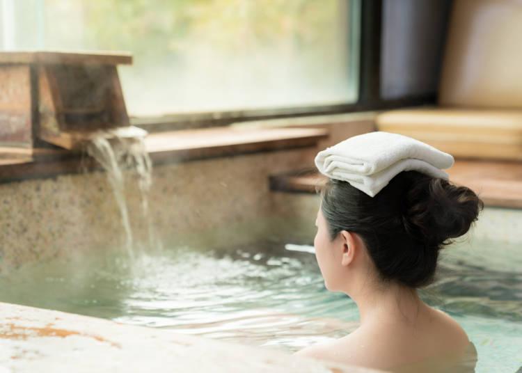 ■基本的な温泉の入り方