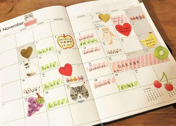 能幹的人都在用日誌手帳!來看看日本人的手帳、記事本聰明活用術吧