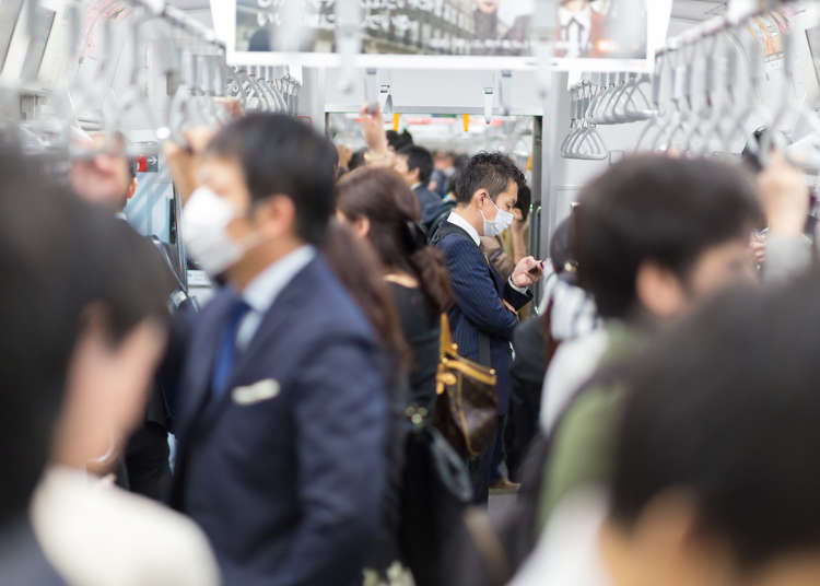 東京旅遊注意!早上搭電車、地鐵該避開的通勤時間和擁擠車站排行榜