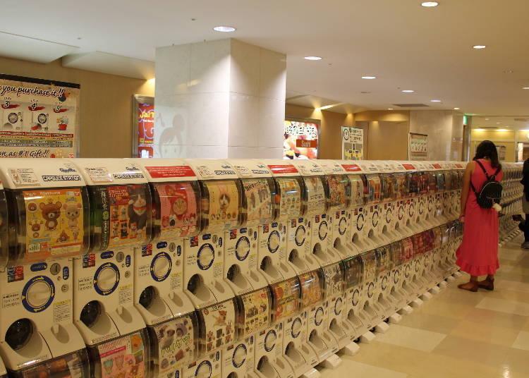 扭蛋機人氣出沒地點⑤ 成田機場:到這裡把口袋的零錢用光再回台吧!