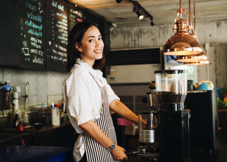 日本旅遊點杯想要的咖啡很簡單!超好用日語-咖啡店常見單字&簡單會話