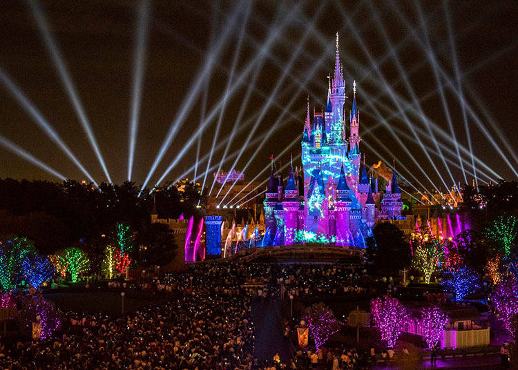 Thru April 26, 2019: Nighttime Spectacular at Tokyo Disneyland