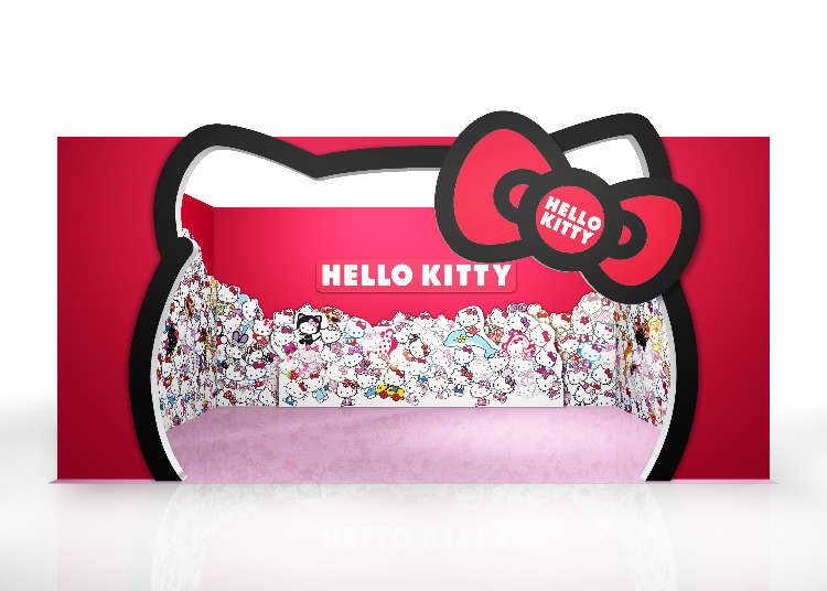 Hello Kitty Brings Color to Mitsui Outlet Park Sapporo Kitahiroshima!