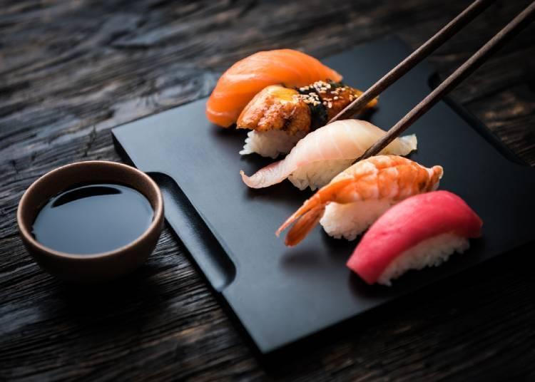 5. 在日本品嚐的食物中覺得美味的是這個!