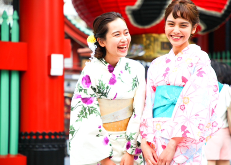 3. Yukata Rental Wabisabi: Recommended for Those who Wish to Wear a Kimono and Get the Full Experience of Traditional Japanese Culture