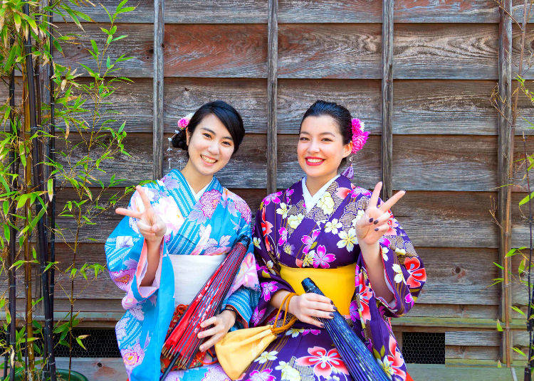 4. Kawagoe Kimono Rental Yuzuya: Spend A Modern Yet Elegant Day in Little Edo! Choose from Many Different Kawaii Kimono