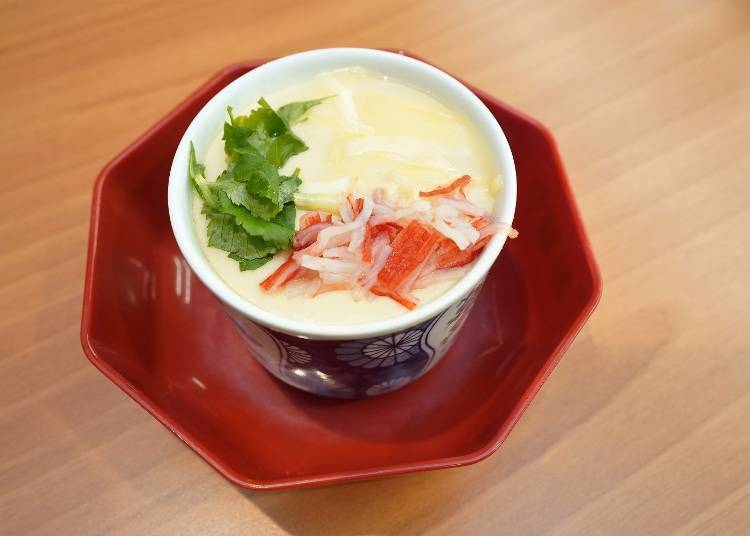 Recommended Side Menu #3: It doesn't stop at good flavor. Chawan-mushi Risotto!