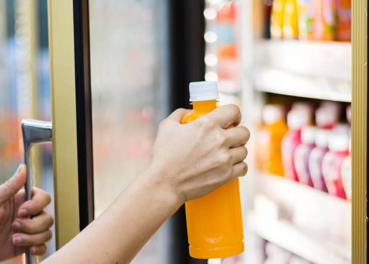 ペットボトルや缶類で選ぶのは「ジュース類」