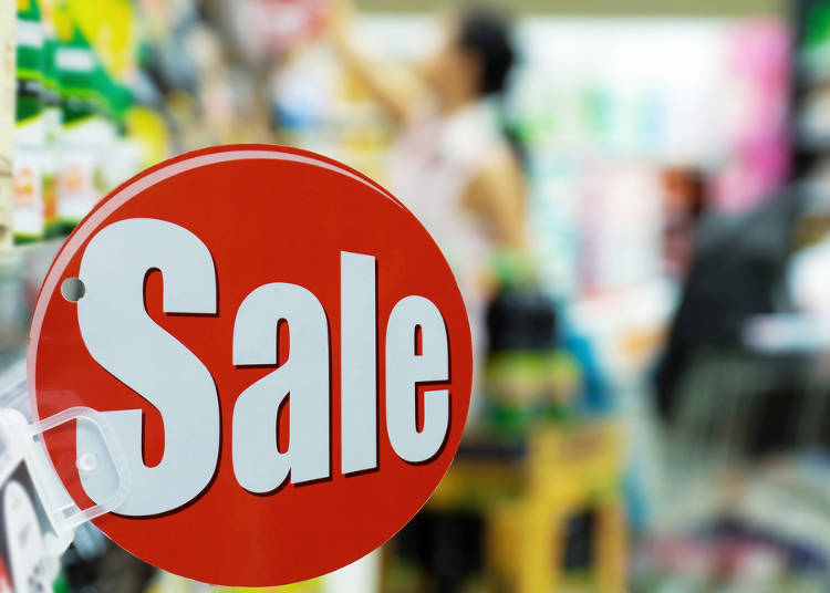 5. An abundance of discounted products