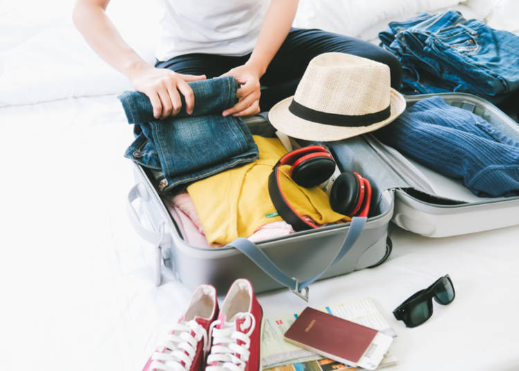 2. Know what to pack for Japan in spring