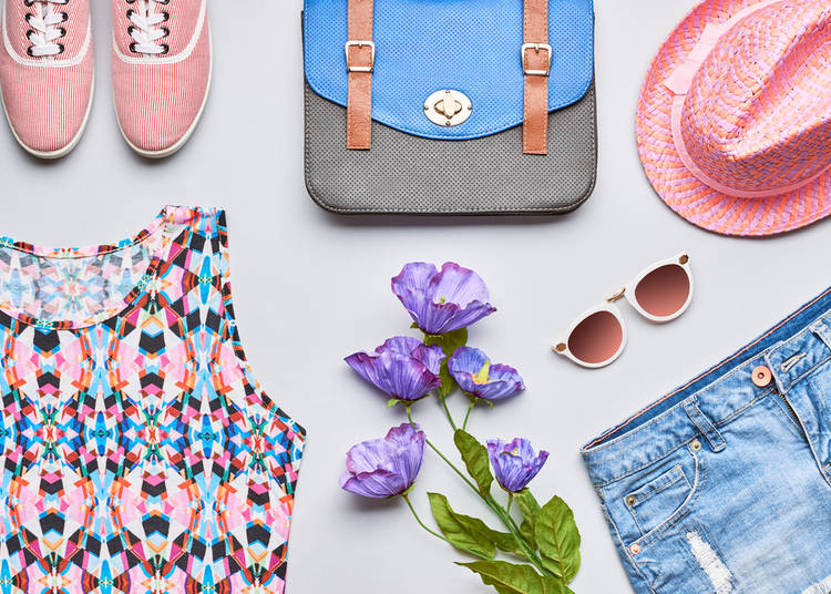 15. Colorful spring clothing