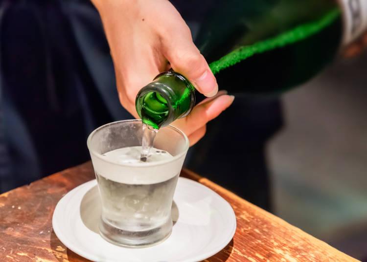 「日本酒」のおいしさに感動したよ