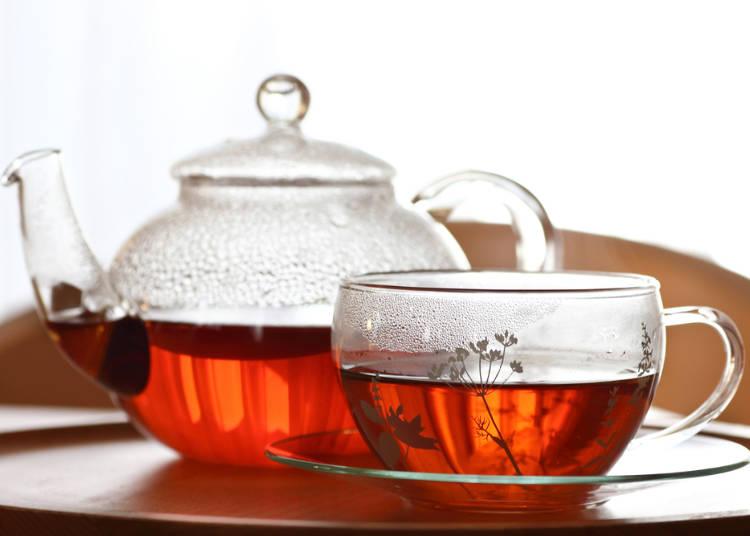 日本の「紅茶」は、ちょっと味が薄い?
